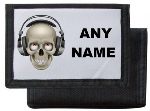 Skull/Headphones Wallet/Purse